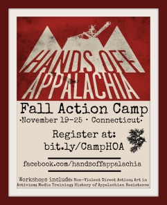 Fall Action Camp Flyer